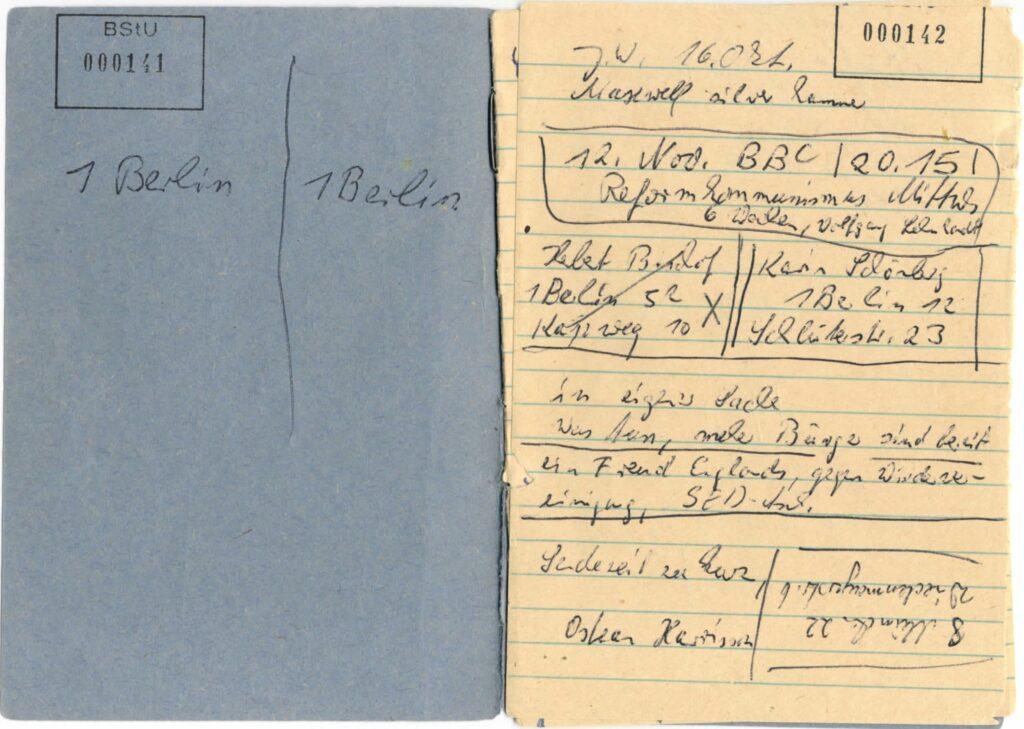 """26.02.2021 Frankfurt Museum für Kommunikation, Ausstellung """"Briefe ohne Unterschrift""""."""