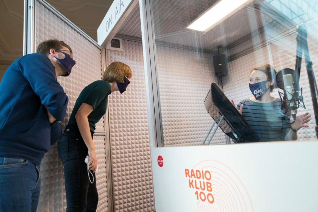 """Radio Klub 100, """"ON AIR. 100 Jahre Radio"""", Museum für Kommunikation"""