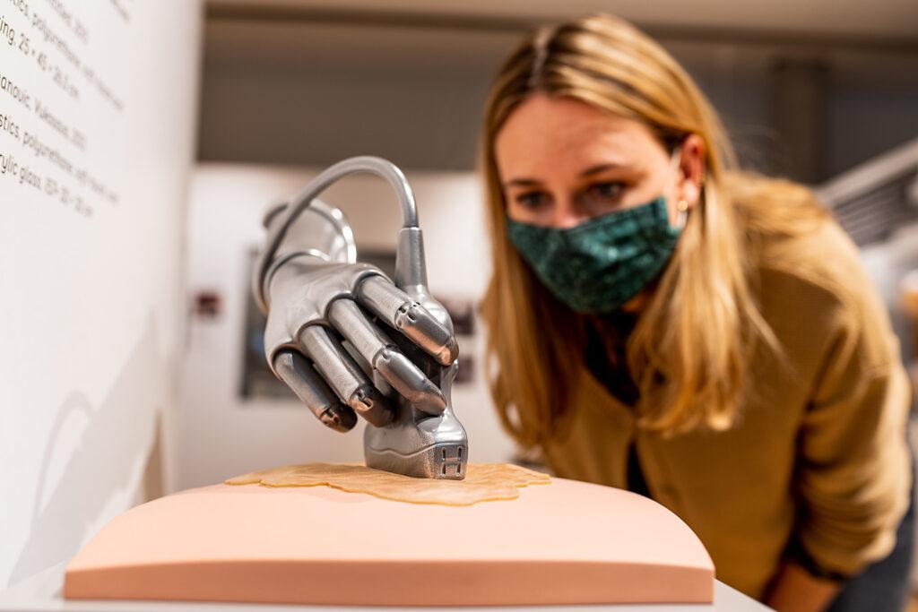 """Poetische Umwege der Ausstellung """"Back to Future"""", Museum für Kommunikation Frankfurt"""