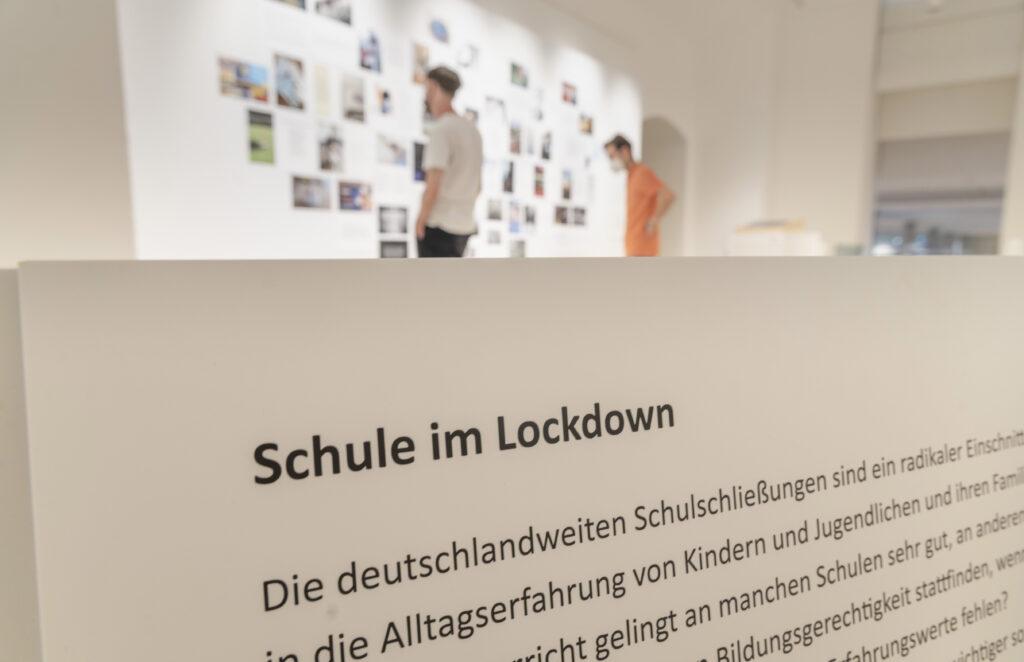 "Schule im Lockdown, ""OhneWorte.Corona–Kunst–Kommunikation"", Museum für Kommunikation Frankfurt"