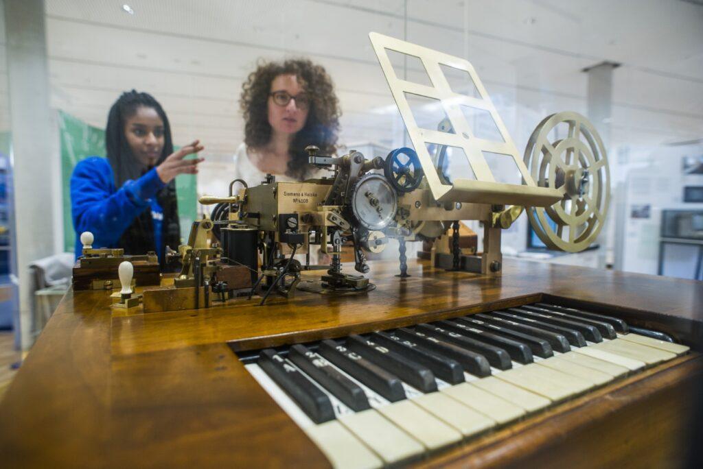 Telegrafie, Dauerausstellung, Museum für Kommunikation Frankfurt