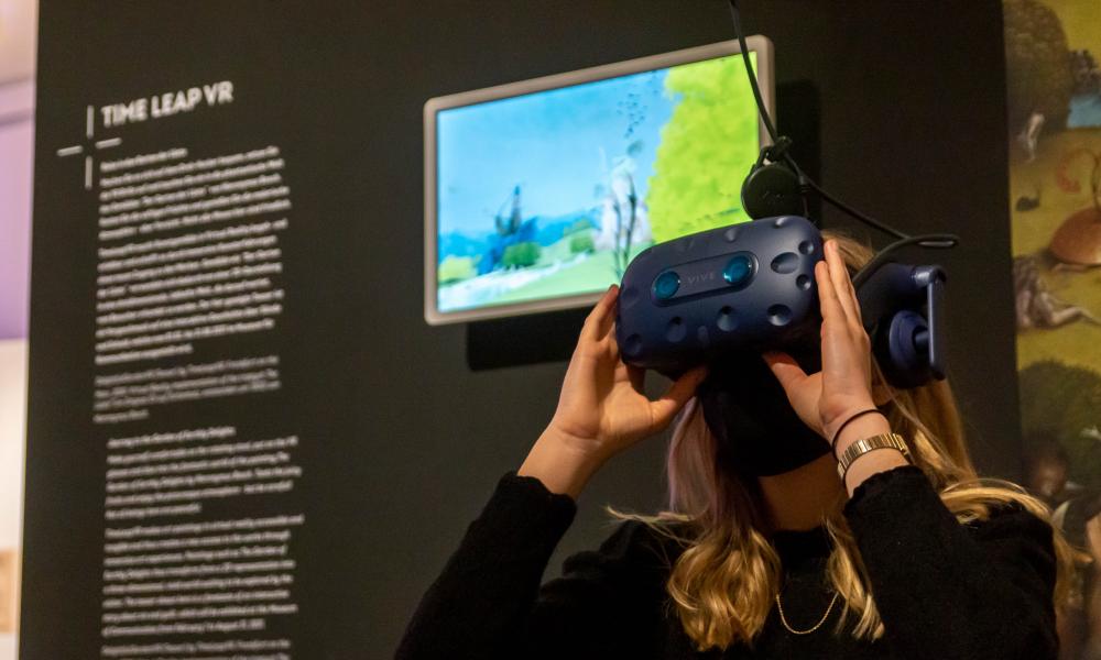 Timeleap VR Garten der Lüste