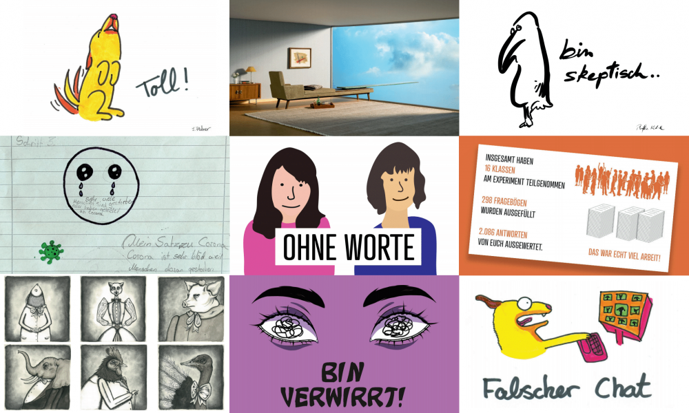 Ohne Worte. Corona – Kunst – Kommunikation. Ein partizipatives Ausstellungsprojekt
